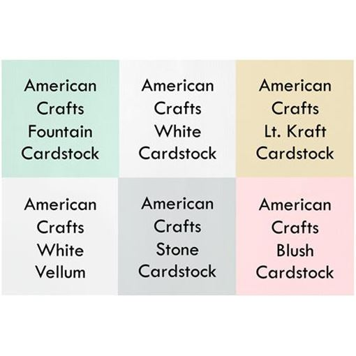 Picture of       February 2015 Cardstock Kit