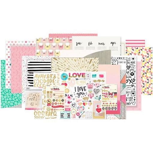 January 2016 Main Scrapbook Kit