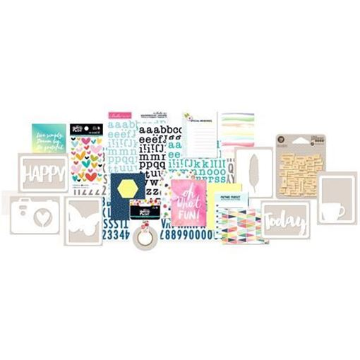 May 2016 Project Life Scrapbook Kit