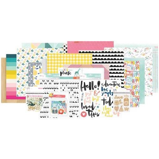 August 2016 Main Scrapbook Kit