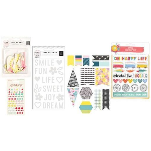 August 2016 Project Life Scrapbook Kit