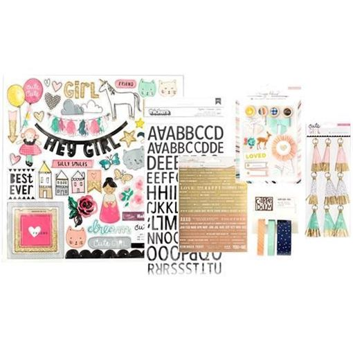 September 2016 Embellishment Scrapbook Kit