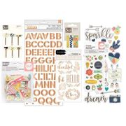October 2016 Embellishment Scrapbook Kit