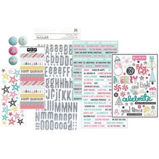 November 2016 Embellishment Scrapbook Kit