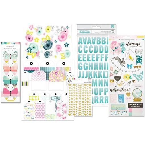 February 2017 - Embellishment Scrapbook Kit