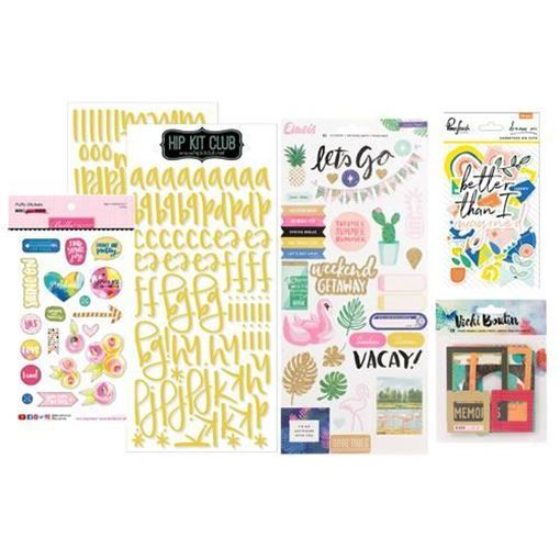 June 2017 Embellishment Scrapbook Kit