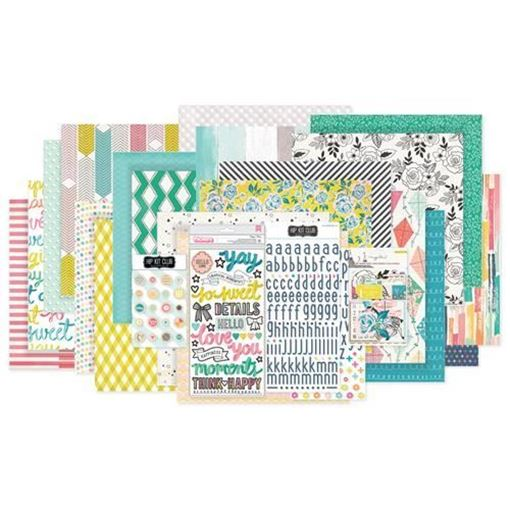 August 2017 Hip Kit Club Main Scrapbook Kit
