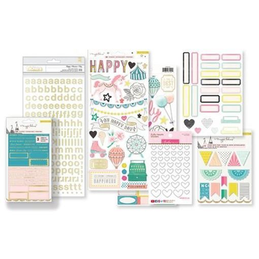 August 2017 Hip Kit Club Project Life Scrapbook Kit