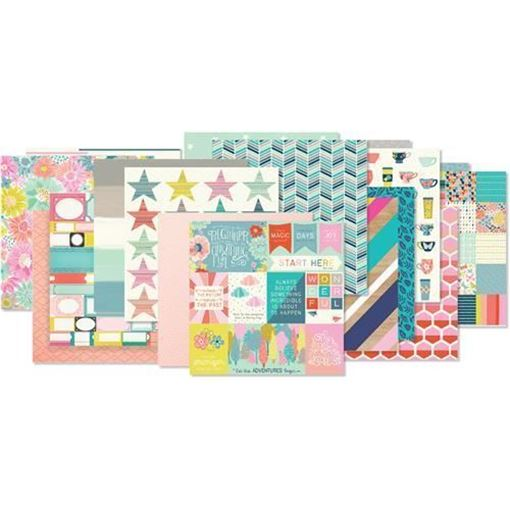 September 2017 Hip Kit Club Paper Scrapbook Kit