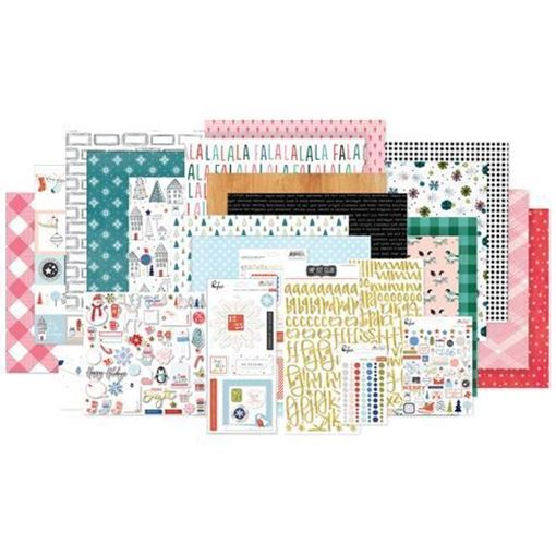 November 2017 Hip Kit Club Main Scrapbook Kit