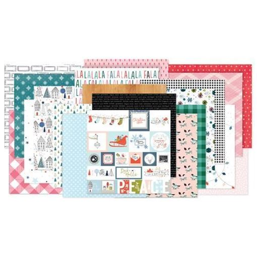 November 2017 Hip Kit Club Paper Scrapbook Kit