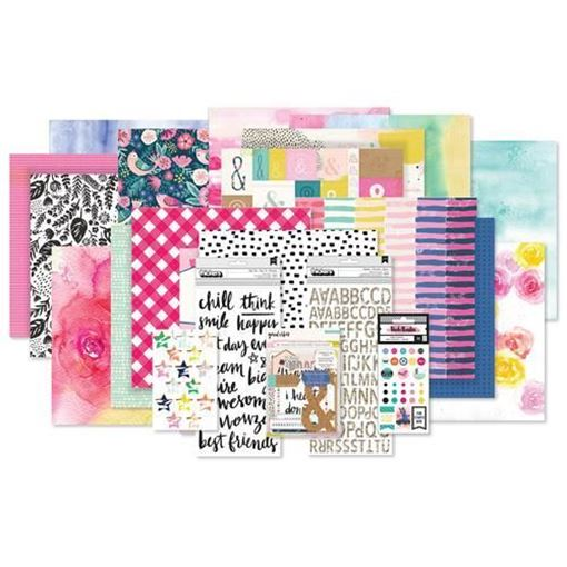 December 2017 Hip Kit Club Main Scrapbook Kit
