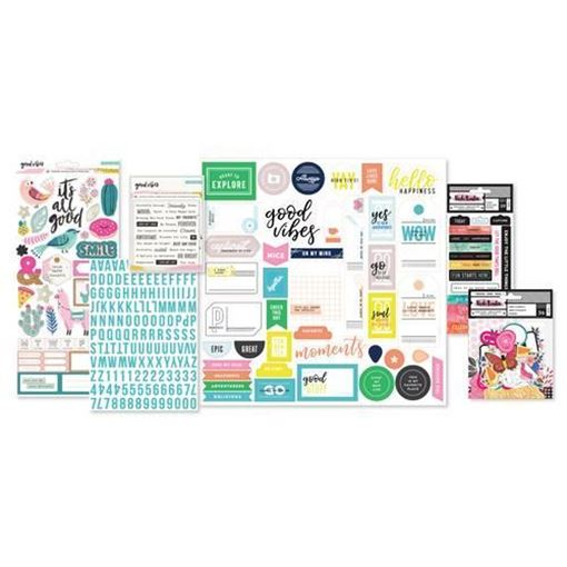 December 2017 Hip Kit Club Project Life Scrapbook Kit