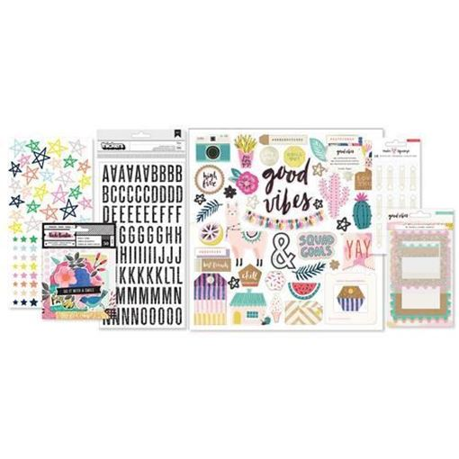 December 2017 Hip Kit Club Embellishment Scrapbook Kit