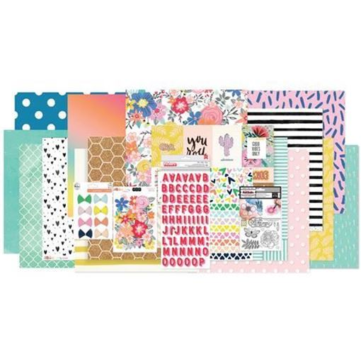 January 2018 Hip Kit Club Main Scrapbook Kit