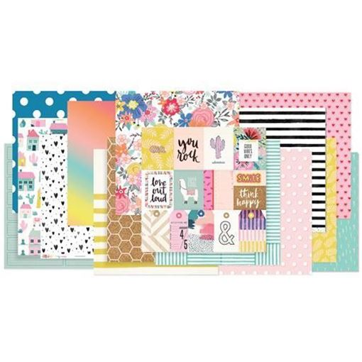 January 2018 Hip Kit Club Paper Scrapbook Kit