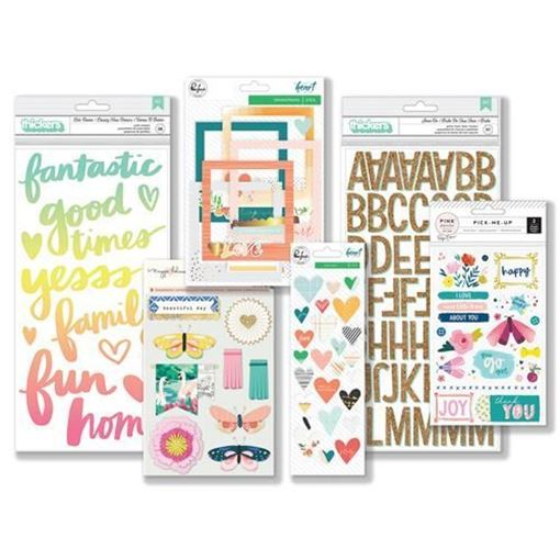 February 2018 Hip Kit Club Embellishment Scrapbook Kit