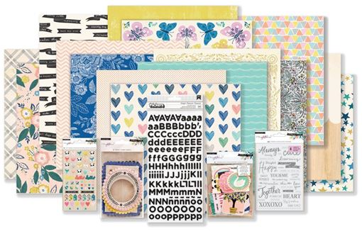 August 2018 Hip Kit Club Main Scrapbook Kit