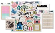August 2018 Hip Kit Club Embellishment Scrapbook Kit