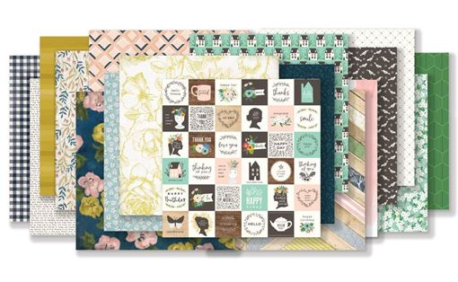 November 2018 Hip Kit Club Paper Scrapbook Kit