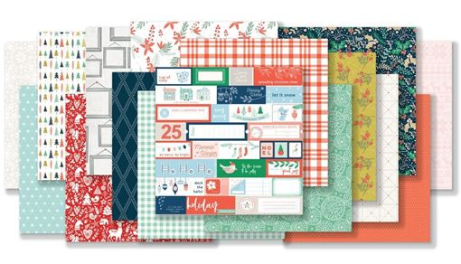 December 2018 Hip Kit Club Paper Scrapbook Kit