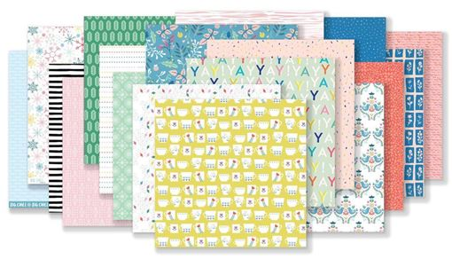 January 2019 Hip Kit Club Paper Scrapbook Kit