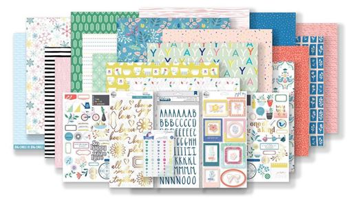 January 2019 Hip Kit Club Main Scrapbook Kit