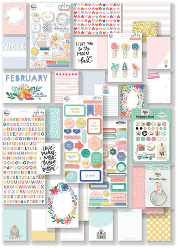 February 2019 Hip Kit Club Project Life Scrapbook Kit
