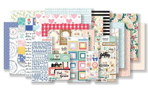 February 2019 Hip Kit Club Main Scrapbook Kit
