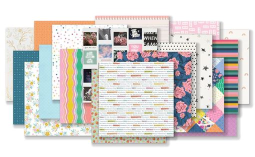 May 2019 Hip Kit Club Paper Scrapbook Kit