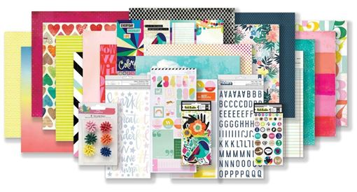 June 2019 Hip Kit Club Main Scrapbook Kit