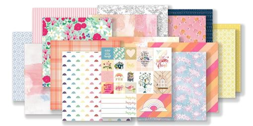 July 2019 Hip Kit Club Paper Scrapbook Kit