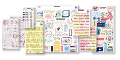 July 2019 Hip Kit Club Pocket Life Scrapbook Kit