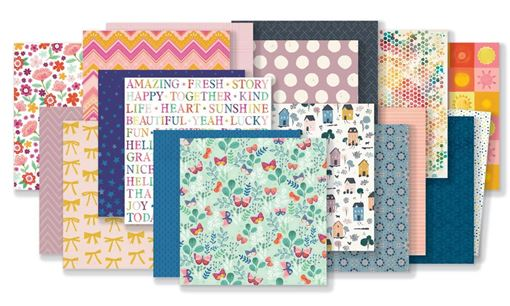 August 2019 Hip Kit Club Paper Scrapbook Kit