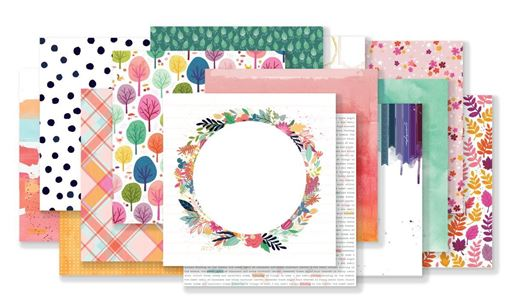 October 2019 Hip Kit Club Paper Scrapbook Kit