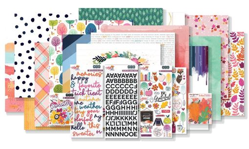 October 2019 Hip Kit Club Main Scrapbook Kit