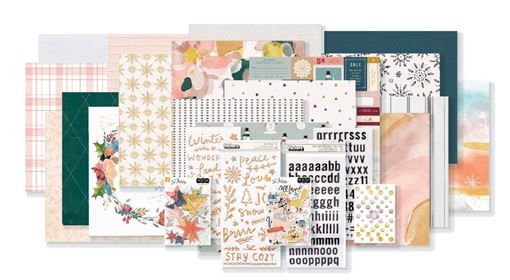 December 2019 Hip Kit Club Main Scrapbook Kit