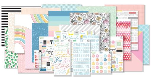 January 2020 Hip Kit Club Main Scrapbook Kit