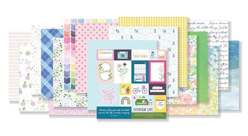 February 2020 Hip Kit Club Paper Scrapbook Kit