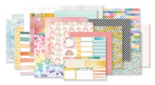March 2020 Hip Kit Club Paper Scrapbook Kit