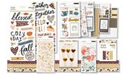 October 2020 Hip Kit Club Embellishment Scrapbook Kit
