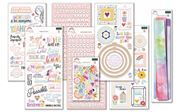 January 2021 Hip Kit Club Embellishment Scrapbook Kit